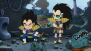 Broly Young Vegeta and Raditz