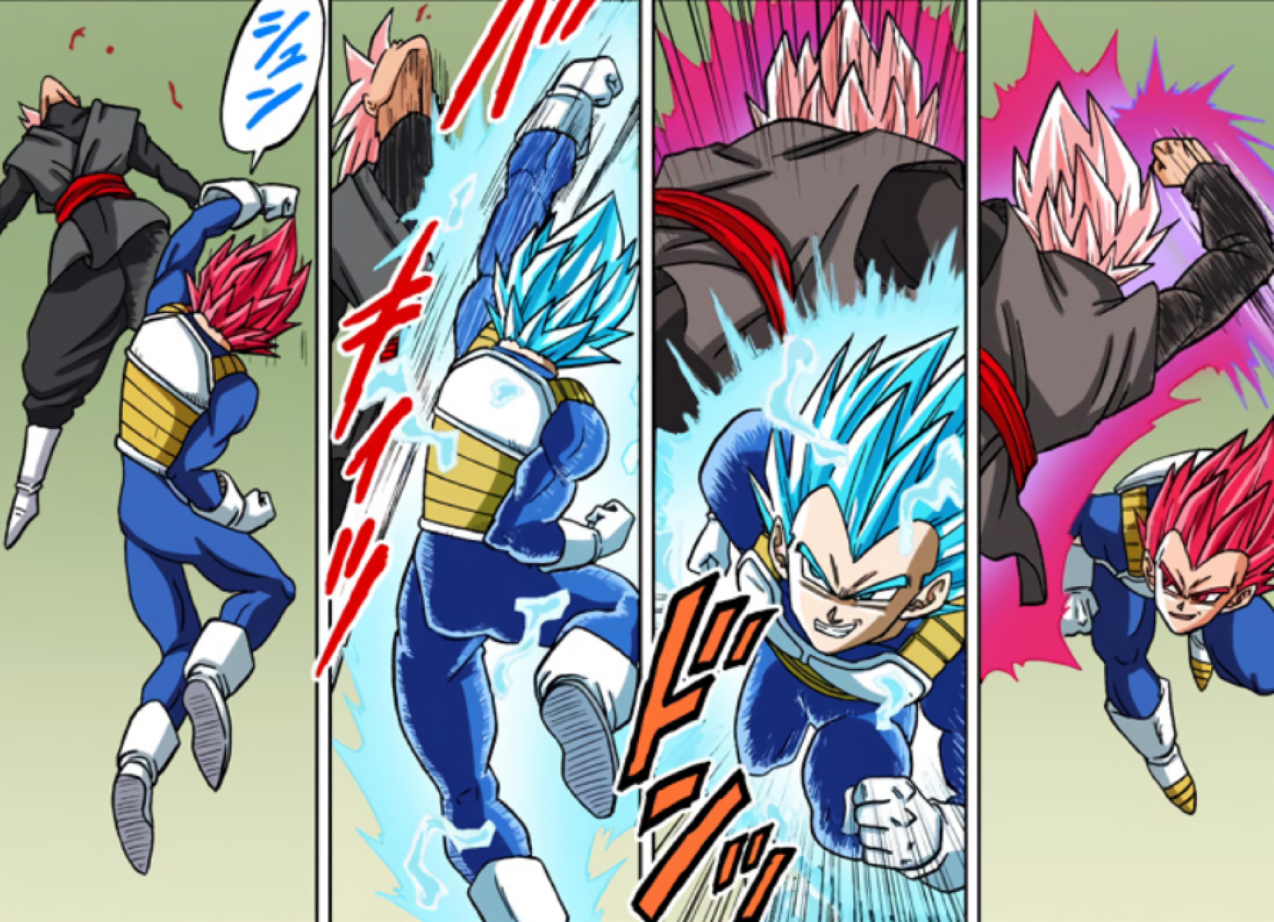 Super Saiyan God-to-Blue switching