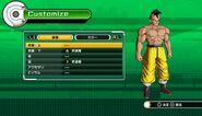 Editor de Dragon Ball Xenoverse - Cuerpo