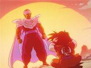 Sol Piccolo y Gohan