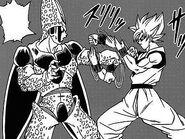 Dragon ball super manga cap 1 - goku combatte mentalmente contro cell