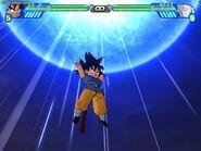 Goku Generando La Genkidama En Dragon Ball Z Budokai Tenkaichi 3