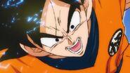 Goku captura pelicula