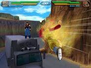Goku ssj4 contra super 17