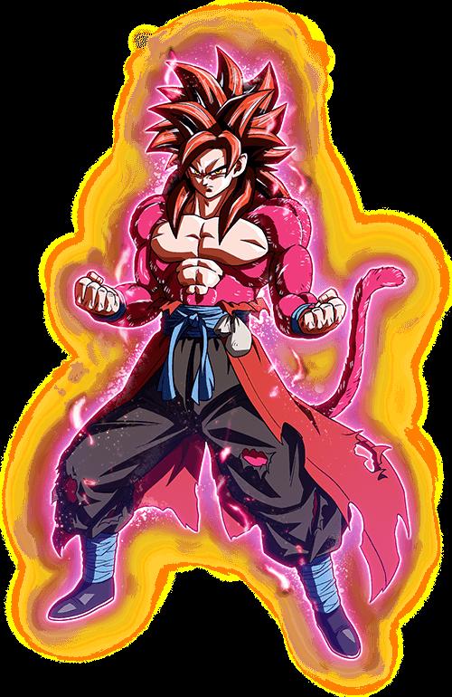 Super Poder Total Saiyajin 4 - Limites Ultrapassados