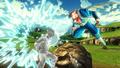 DBXV2 Majin Dabura VS Future Warrior (Extra Pack 1 DLC) Petrifying Spit (Super Skill)
