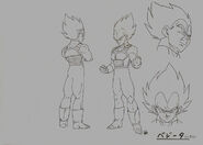 Sketch DBZ11 Vegeta