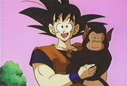 Goku and bubbles