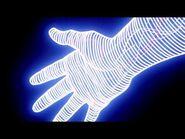 La mano de Goku en el Opening