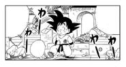 Goku returns to the match
