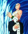 Master Roshi and Tien Waiting for Piccolo