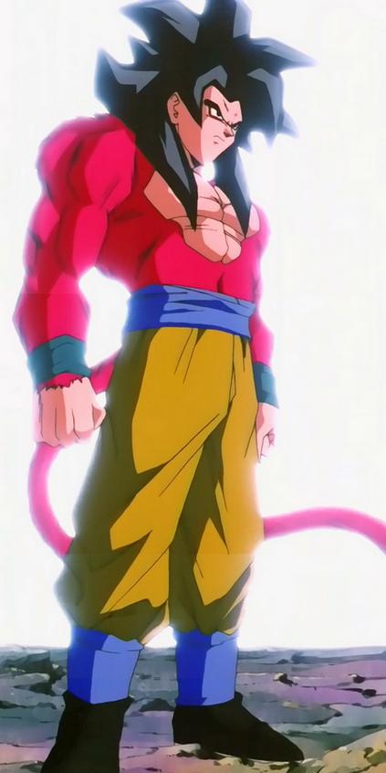 Super Saiyajin 4