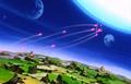 Spirit Bomb Triumphant - Kid Buu assault