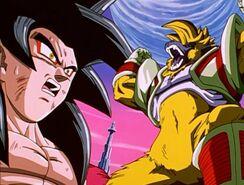 Goku vs Baby Ozaru