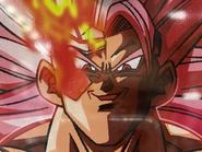 Goku Black Xeno SS3 Máximo Poder - Cara