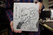 Sketch Molo di Toyotaro