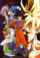 Dbz wallpaper - Z-Fighters in the Android Saga (b)