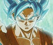 Goku Super saiyajin dios ascendido3