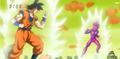 Goku VS Vegeta Falso