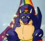 Dinosaurio purple