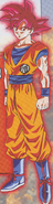 Goku Super Saiyajin Dios oficial