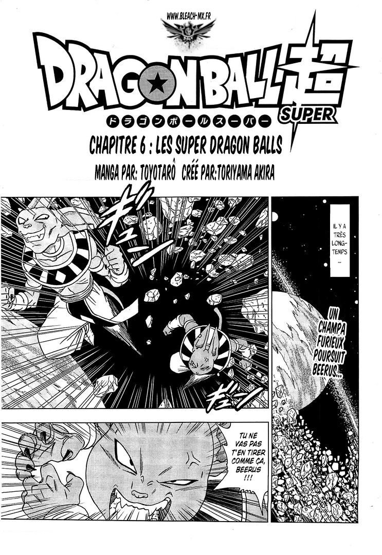Dragon Ball Super chapitre 006