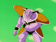 Goku en Ginyu