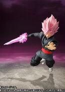 Goku Black Rose Espada Ataque Figuarts