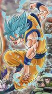 Goku Blue Toyotaro Pose