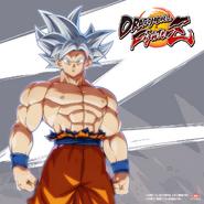 Son Goku egoísta FZ arte