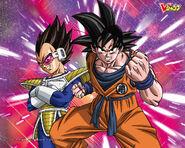 Goku Vegeta V-Jump