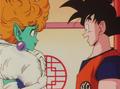Princess Snake and Goku meet