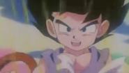 Super Saiyan falso de goku chico 2