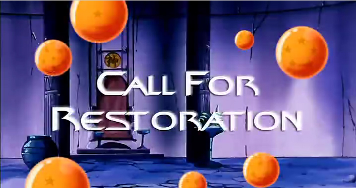 Call for Restoration