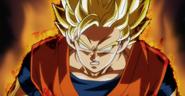 Super Saiyan Fuera de Control DBH Anime