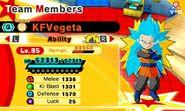 KF SSB Vegeta (SS3 Goku)