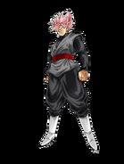 Goku Black Super Saiyan Rosado Artwork DKB