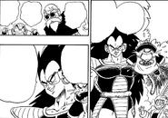 Raditz rapisce Gohan manga