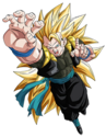 Gogeta - Xeno (Super Saiyan 3) (Artwork)