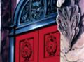 Puerta del ascensor en el castillo de la reina Mei