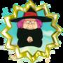 Badge Vovó Uranai