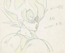 Genga Goku episodio 103 de Dragon Ball Z (Tate)