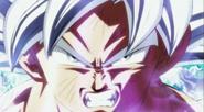 Goku egoísta enojado