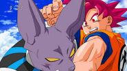 Goku vengandose de Bills