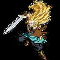 Gotenks - Xeno (Super Saiyan 3) (Artwork)