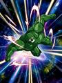 Dokkan Battle Boss Bio Warrior card (TEQ) (Bio Warrior Green)