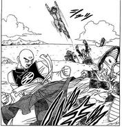Ten Shin Han contra Raza de Goose