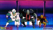 Shanso a punto de atacar a Goku