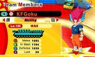 KF SSG Goku (SSB Vegito)