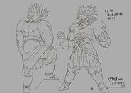 Sketch DBZ11 Broly Legendario